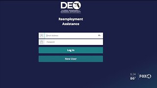 New website for Florida unemployment applications