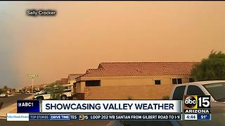 ABC15 viewers share pictures of extreme Valley weather over the weekend - Video