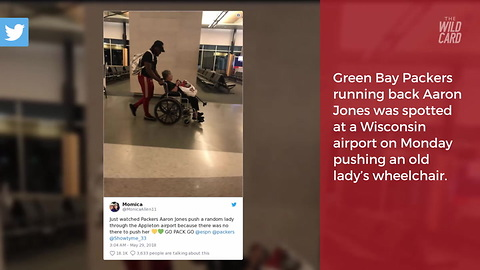 NFL Player Raised by Army Parents Goes Above and Beyond in Viral Photo at Airport
