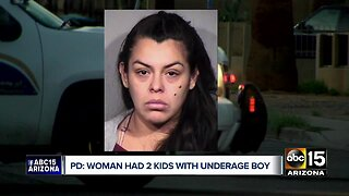 31-year-old Phoenix woman has second child with underage father
