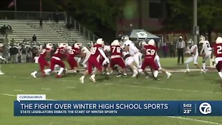 Campaign to re-start winter high school sports intensifies