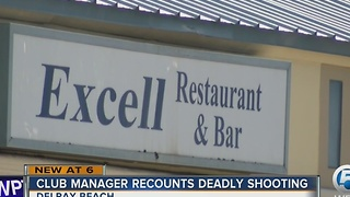 Club manager recounts deadly shooting - Video