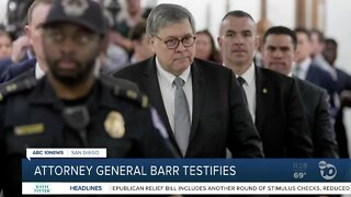 Attorney General Barr testifies