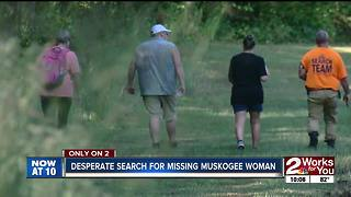 desperate search for missing muskogee woman