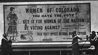 Before the 19th amendment, Colorado women led way in gaining voting rights