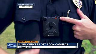 UW-Milwaukee police officers getting body cameras - Video