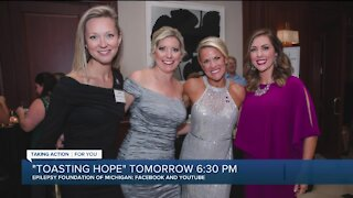Alicia Smith to emcee 'Toasting Hope' hosted by Epilepsy Foundation of Michigan
