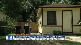 Transitional home causing repeated trouble and concern for a Tampa neighborhood - Video