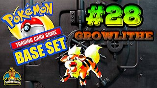 Pokemon Base Set #28 Growlithe | Card Vault