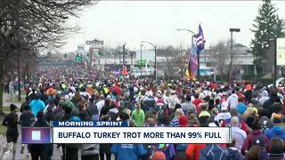 Buffalo's Turkey Trot 99% sold out - Video