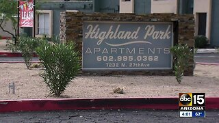 Resident seeing results after apartment was flooded with sewage