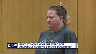 Stay-at-home mom arrested for allegedly robbing 5 banks Downriver