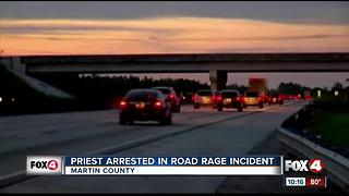 Priest Arrested in Road Rage Incident - Video