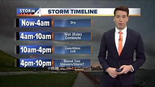 Meteorologist Josh Wurster's Sunday Forecast - Video