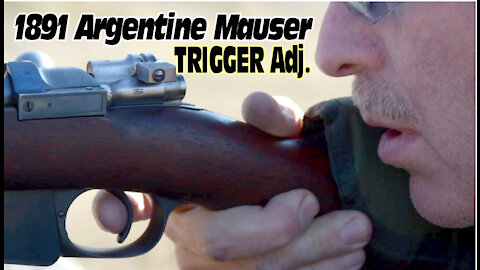 1891 Argentine Mauser TRIGGER Job by Wapp Howdy