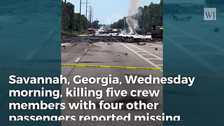 Military Plane Crashes in Georgia, 5 Confirmed Dead