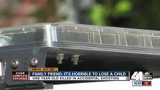 Fatal shooting takes life of 1-year-old girl in Lawrence - Video