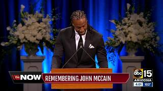 Funeral service held for Senator John McCain at the North Phoenix Baptist Church
