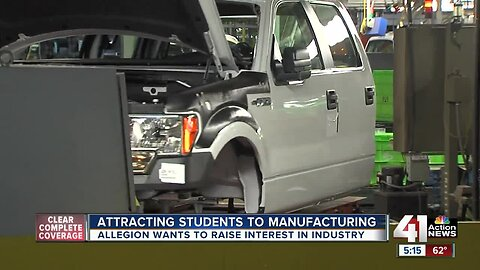 Olathe company hosts Manufacturing Day for students
