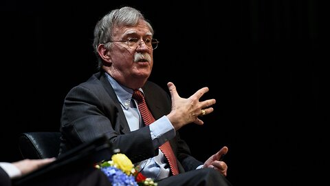 Bolton Says He Hopes White House Doesn't 'Suppress' His Book