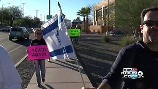 Tucson march to remember the Holocaust - Video