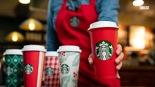 Starbucks Is Giving out Free Reusable Holiday Cups