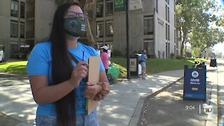 UC San Diego students return to a host of COVID-19 precautions