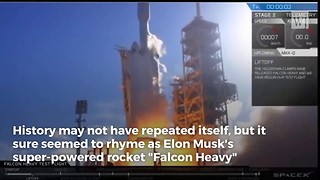 'Falcon Heavy Sends a Car to Mars': Elon Musk Just Launched His Sports Car Into Space