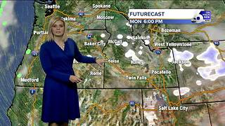 Skies clear by mid-afternoon Monday - Video