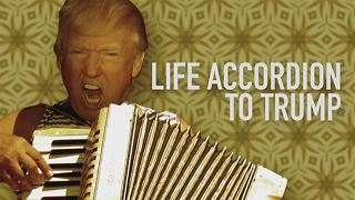 When you give Trump an accordion... THIS happens - Video