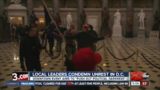 Kern County leaders react to unrest at the U.S Capitol