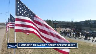 Northeast Wisconsin Police plan to attend fallen Milwaukee Officer's funeral - Video