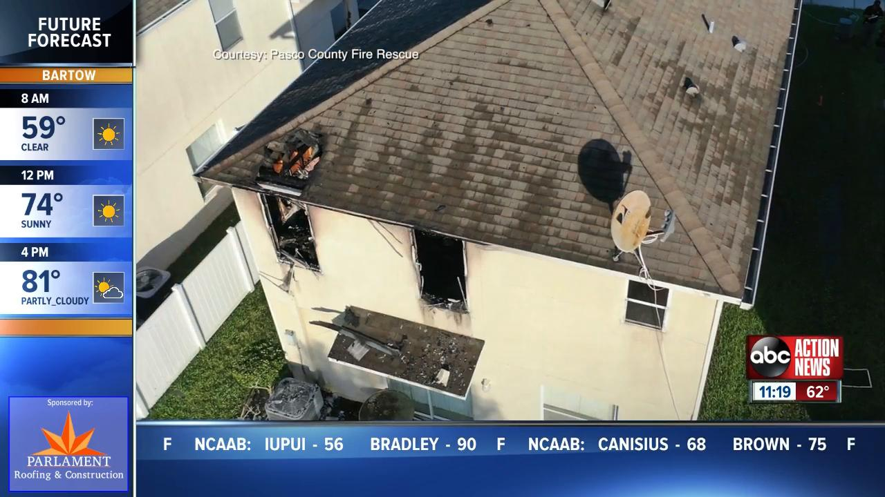 One person dies after house fire