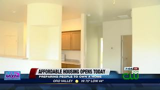 Affordable housing neighborhood opens Wednesday in Barrio Hollywood - Video
