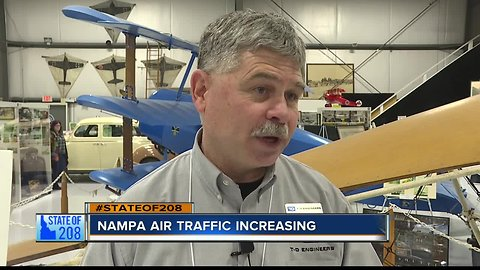 Nampa Municipal Airport to focus on small planes and new hangars