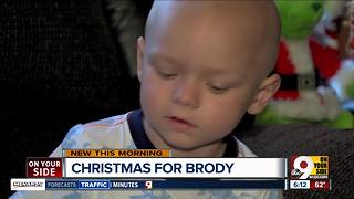 Team Brody celebrates Christmas early