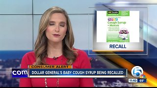 FDA: Baby cough syrup recalled, may contain bacteria