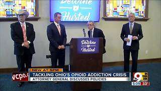 Ohio's opioid crisis: Attorney General Mike DeWine talks ways to tackle it - Video