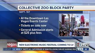 New electronic music festival coming to downtown