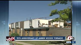Amber Woods Apartments struck by tornado 15 years ago - Video