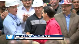 Foxconn incentive bill signed into law - Video