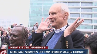 Memorial services set for former Indianapolis Mayor Hudnut - Video