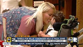 'Wheels for Willie' fundraiser at Pizza Johns Wednesday - Video