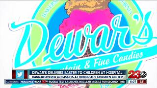 Dewar's delivers Easter gifts to hospitalized children - Video