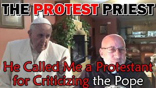 I'm A Protestant for Criticizing The Pope? | Fr. Imbarrato Live- 1/14/2021