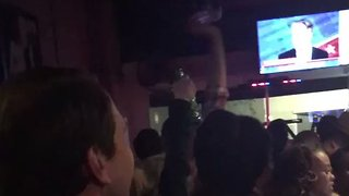Doug Jones' Supporters Celebrate His Victory at Mobile Bar - Video
