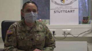 Stuttgart COVID-19 Vaccine LTC Bruton Interview