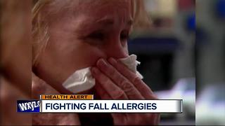 Fighting fall allergies - Video