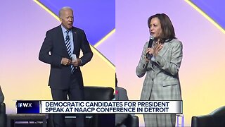 Democratic presidential candidates in town for NAACP Convention ahead of Detroit debates