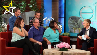Ellen DeGeneres Surprises Struggling Family With Amazing Gift - Video
